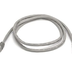 Cat5e Crimped Patch Cable, Grey,2ft      UTP-1700-02A