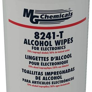 MG Chemicals Alcohol Wipes for Electronics