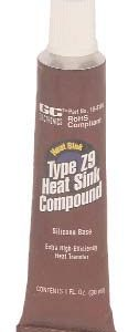HEAT SINK SILICONE, 1 OZ. Tube
