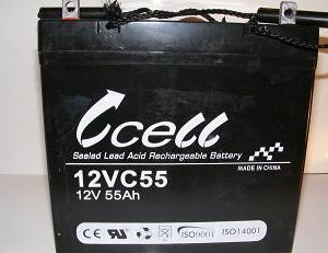 12v 55ah SLA Battery             12VC55-FP-06, battery, batteries