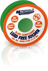 Lead Free Solder Sn96, 454gm(1lb), .032″ Dia.    4900-454G