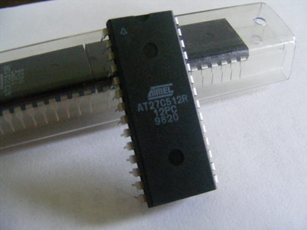 27C512  Eprom, 120ns        AT27C512R-12PC
