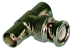 BNC T ADAPTER 2F TO M