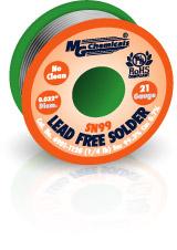 Lead Free Solder, Sn99, 1/4lb(114gm), .032″ Dia.     4901-112G
