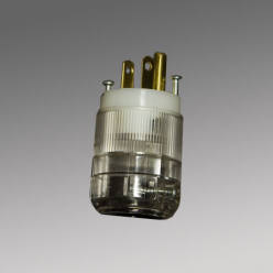 15 Amp 125 Volt Plug Illuminated , Hospital Grade     8215TL