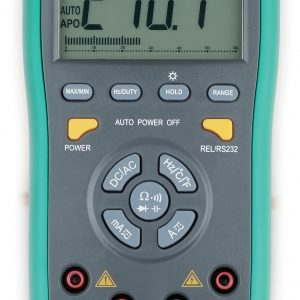 MULTIMETER, PROFESSIONAL DIGITAL AUTO RANGING 3 5/6 DIGITS
