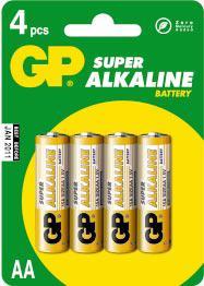 Alkaline Super AA       GP15A-U4