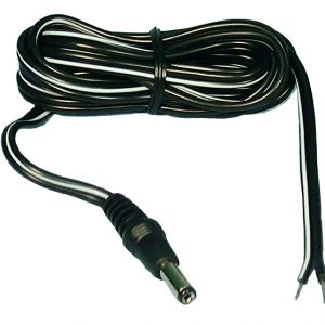 COAXIAL PLUG POWER CORD 2.1MM, 6FT