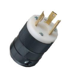 20 Amp, 125 Volt Plug w/ Robertson  Screws        205P