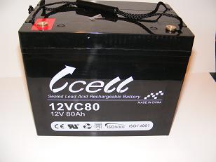 12v 80ah SLA Battery    12VC80-RT-02, battery, batteries