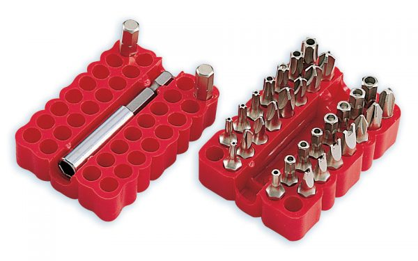 33 Piece Security Bit Kit     800-048E