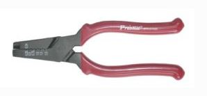 Crimping Tool with Wire Ferrules, 6.3″