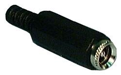 In-Line DC Power Jacks, 1.3mm  256B