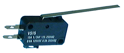 Switch, Miniature Snap Action w/Long Lever, SPDT