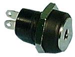 DC Power Jack, Panel Mount, 1.7mm