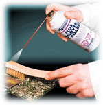 Flux Remover for PC Boards,  Plastic Safe, 400g    4140-400G