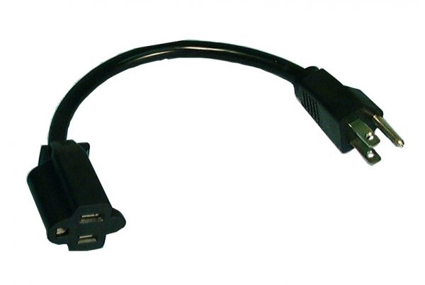 Mini Extension Cord, 1ft Length