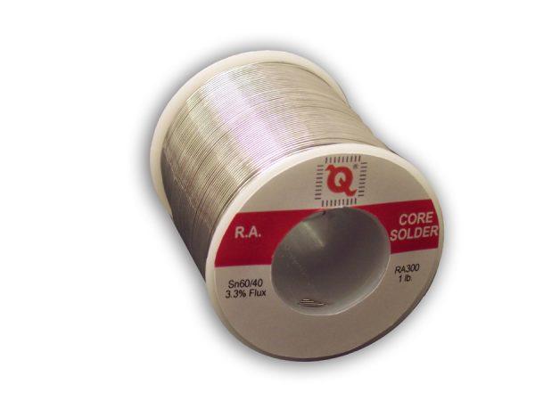 Rosin Core Solder, RA300,  63/37, 21ga, 1lb