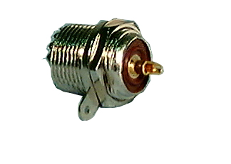 UHF Connector, UHF Chassis Mount Female
