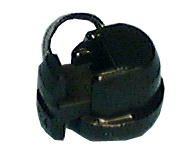 Strain Relief Bushing, Round, .25-.291″ Wire Size ,10/pk