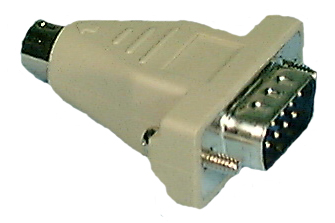 IBM-PS/2 to DB9 Mouse Adaptor