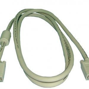 High Resolution Super VGA (S-VGA) Cable, M-F 15ft