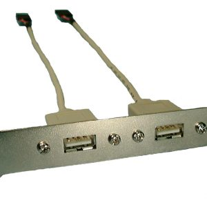 USB DUAL PORT ADAPTER, (2) FEMALE A CONNECTOR