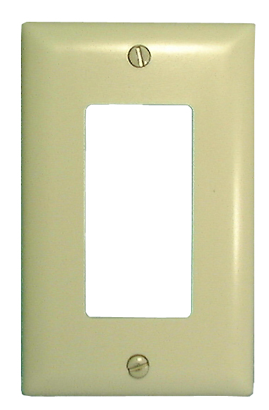 Wall Plate Covers, 1 Gang Wall Plate, Ivory
