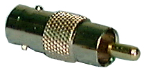 BNC Adaptor ,BNC Female to RCA Male , 957B Philmore