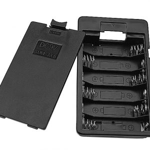 Battery Holder, (6) AA Cells