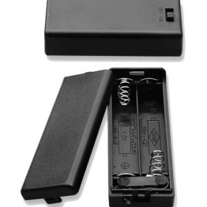 Battery Holder, (2) AAA Cells