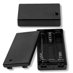 Battery Holder, (3) AAA Cells