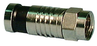 "Compression ""F"" Male Connector"