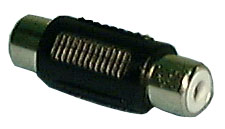 RCA Female Adaptor/Coupler, Gold Plated