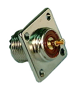 UHF Connector, Chassis Mount Female