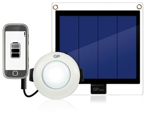 Solar LED Light Kit        GP ACS202K001