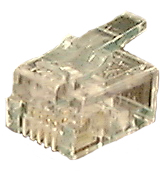 Modular Plug, 6P6C, RJ12