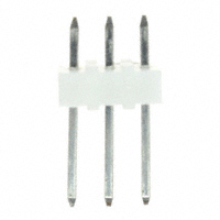 3 Pin Single Row, Straight Header .100″(2.54mm)    22-03-2031