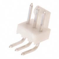 3 Pin Right Angle Header w/Friction Lock, .100″ (2.54mm)   22-05-3031