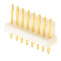 """8 Pin, Square pin Friction Lock Header, .100"""" (2.54mm)  22-11-2082"""