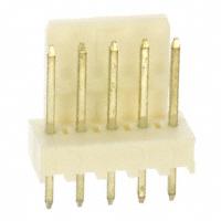 """5 Pin Friction Lock Header,  .100""""(2.54mm)     22-27-2051"""