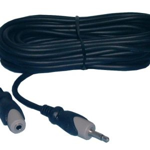 Audio Cables, Extension, 3.5mm Stereo Male to 3.5mm Stereo Female, 6ft, 44-009 Philmore
