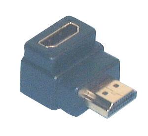 HDMI & DVI Adaptors, R/A HDMI Male to Female