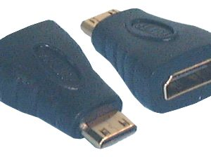 HDMI & DVI Adaptors, HDMI A Female to HDMI C (mini) Male Adaptor