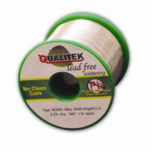 No-Clean(NC600) Wire Solder, 18ga, 1lb spool