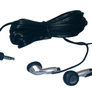 Stereo Earphones, 18ft