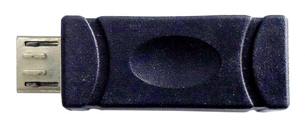 Micro USB Adaptor, Mini USB B (5 pin) Female to Micro USB B Male