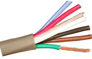 Multi-Conductor Cable, 22awg 3 Pair Twisted, Chrome   8742 0601000