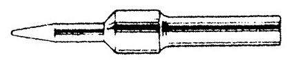 "Solder Tip for EC1302A Iron 1/64"" ,  EPH110"
