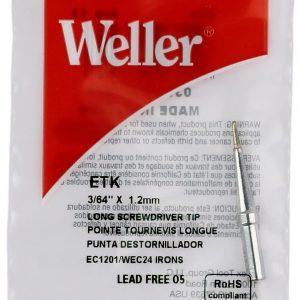 Solder Tip for EC1201A Irons, 3/64″    ETK